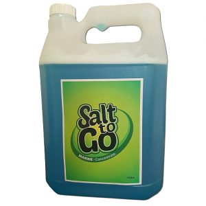 Marine Concentrate Salt to Go in a 5 litre bottle